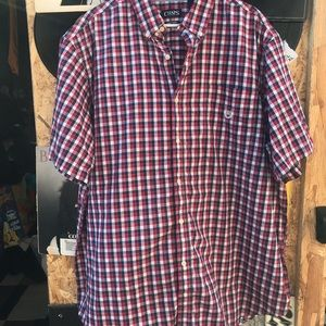 Chaps button up shirt sleeve